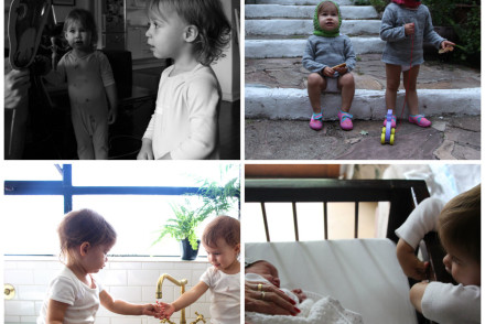 A portrait of my babes once a week in 2015 – 19 months